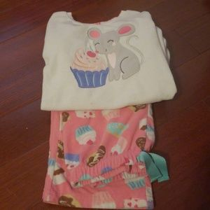 Carters fleece pjs